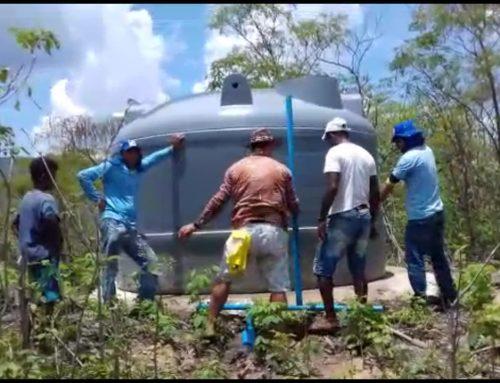 SAAE de Bom Jesus da Lapa implanta novo sistema de abastecimento de água na comunidade de Lagoinha